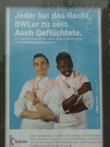Flüchtlinge dürfen BWLer sein